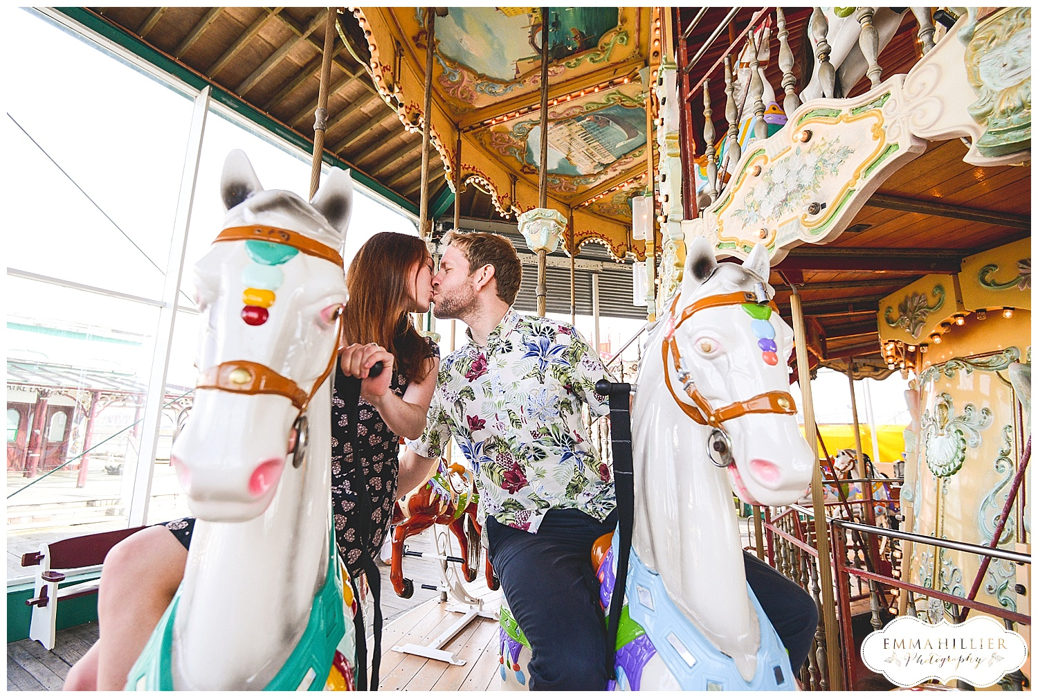 fun-filled pre wedding shoot Blackpool