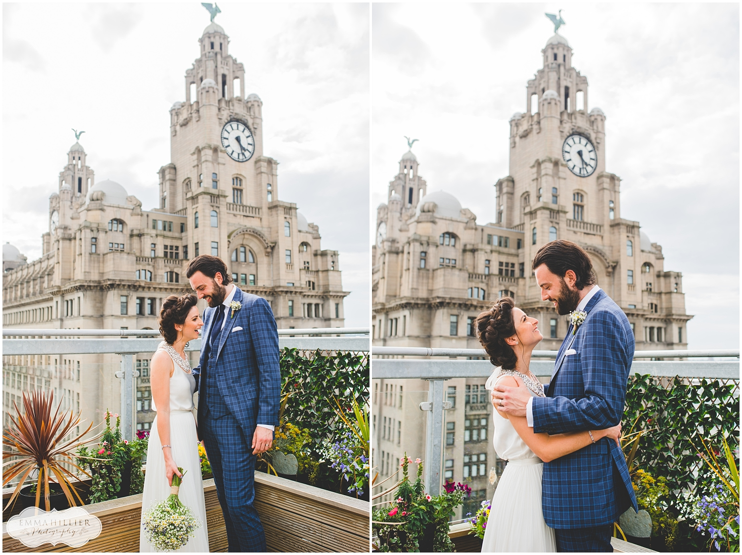 Liverpool Town Hall and Leaf wedding