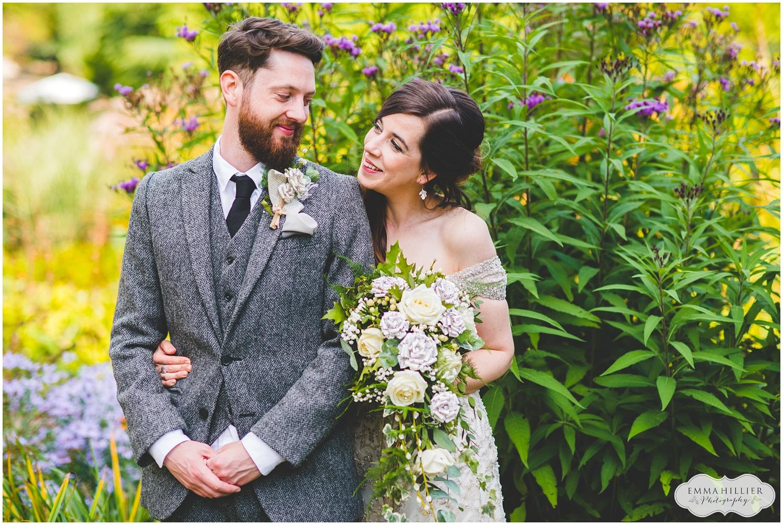 Ness Gardens wedding in autumn