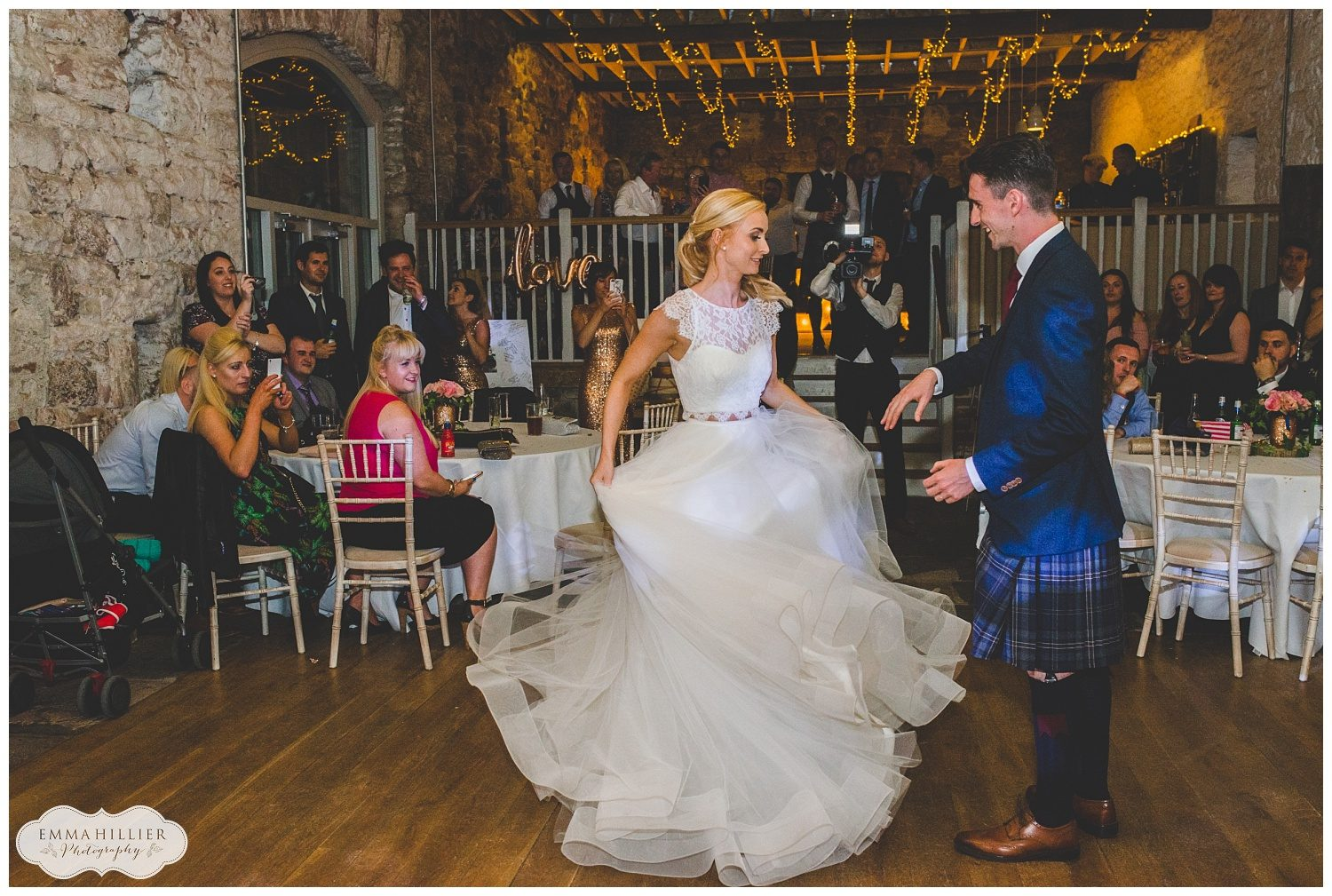 First dance at Askam Hall