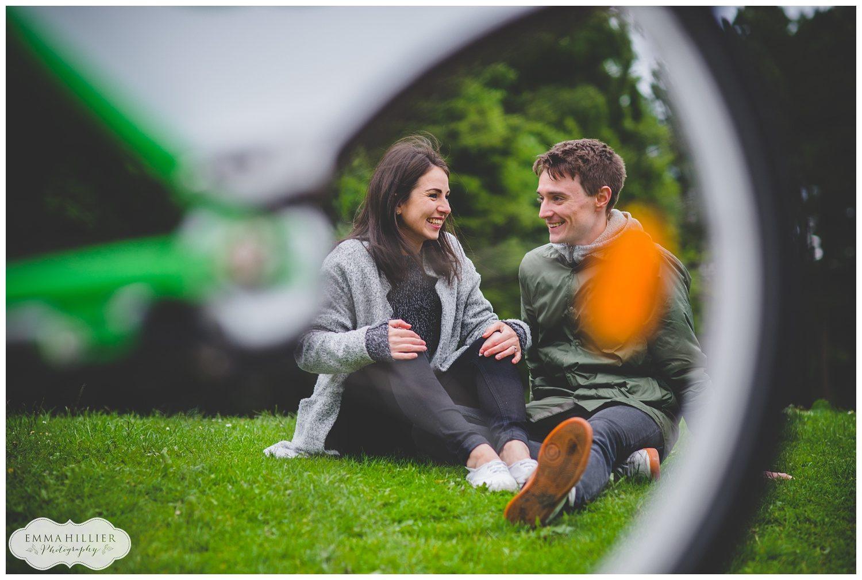 Sefton Park pre-wedding shoot