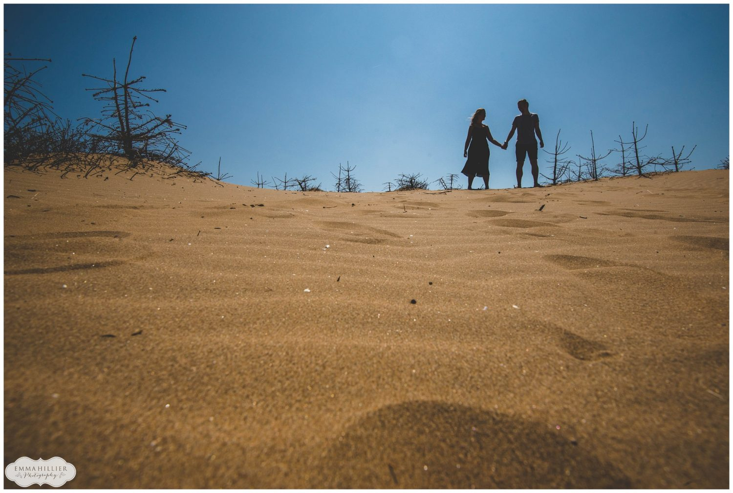 Formby beach pre-wedding shoot
