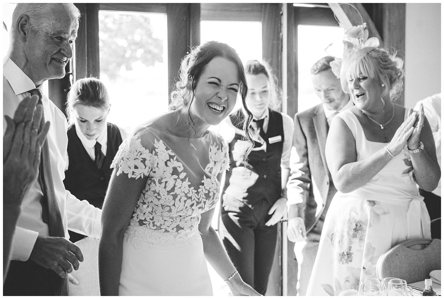 Fun wedding at Sandhole Oak Barn
