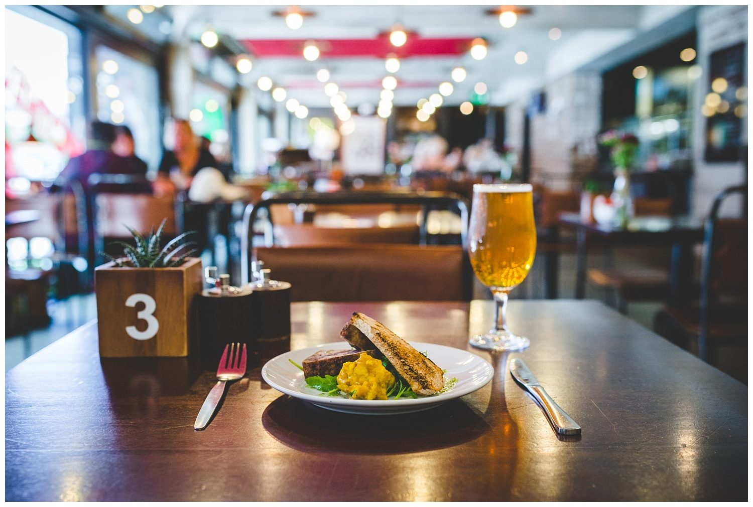 Liverpool Everyman street cafe food - Liverpool commercial photography