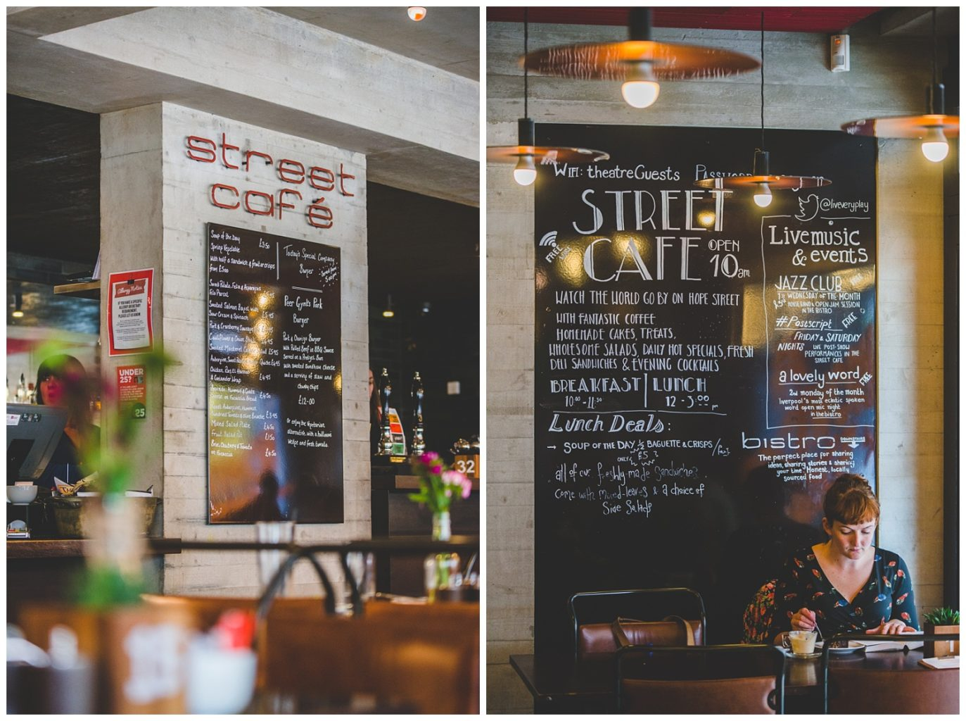 Liverpool Everyman street cafe - Liverpool commercial photography