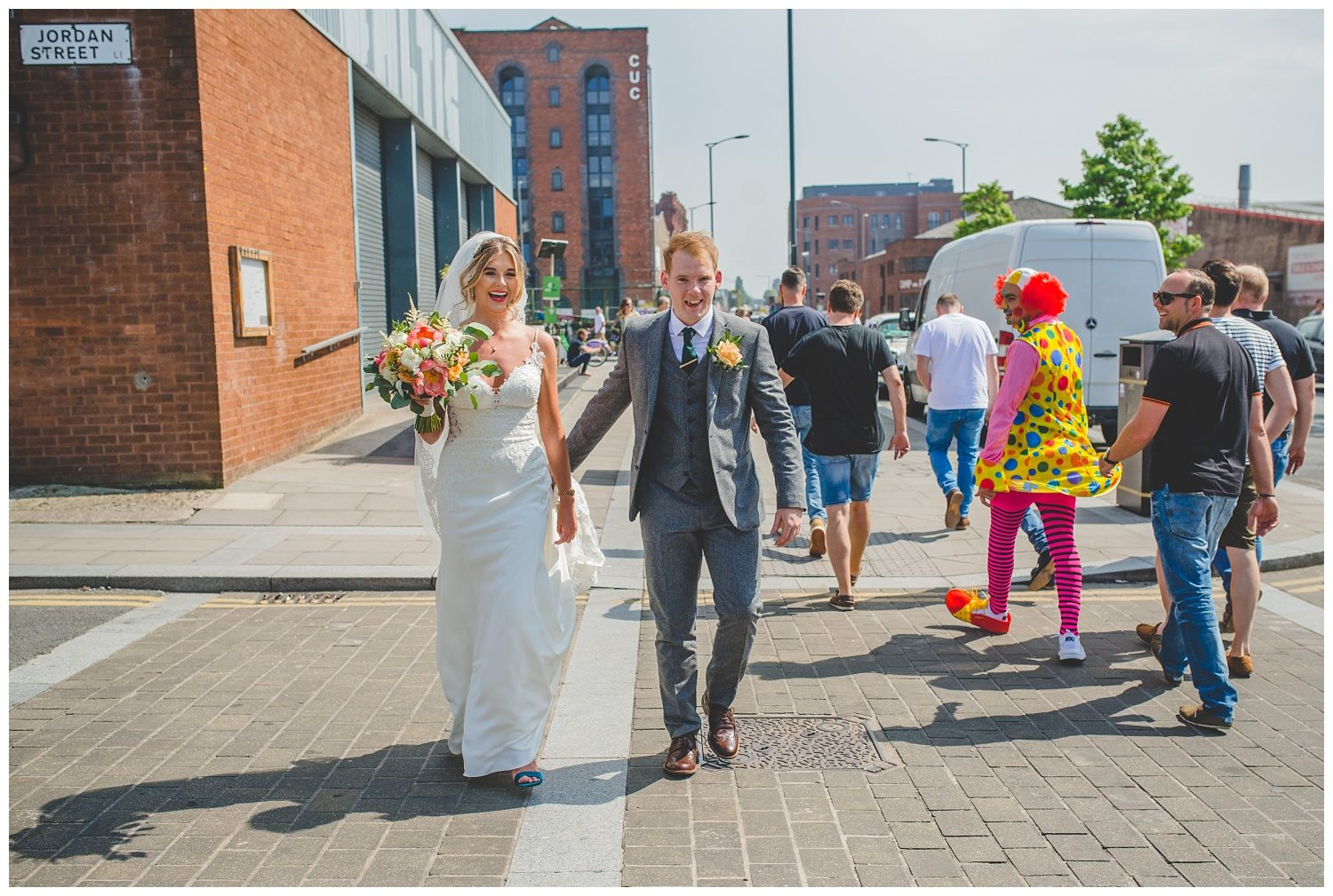 Baltic Triangle Liverpool wedding