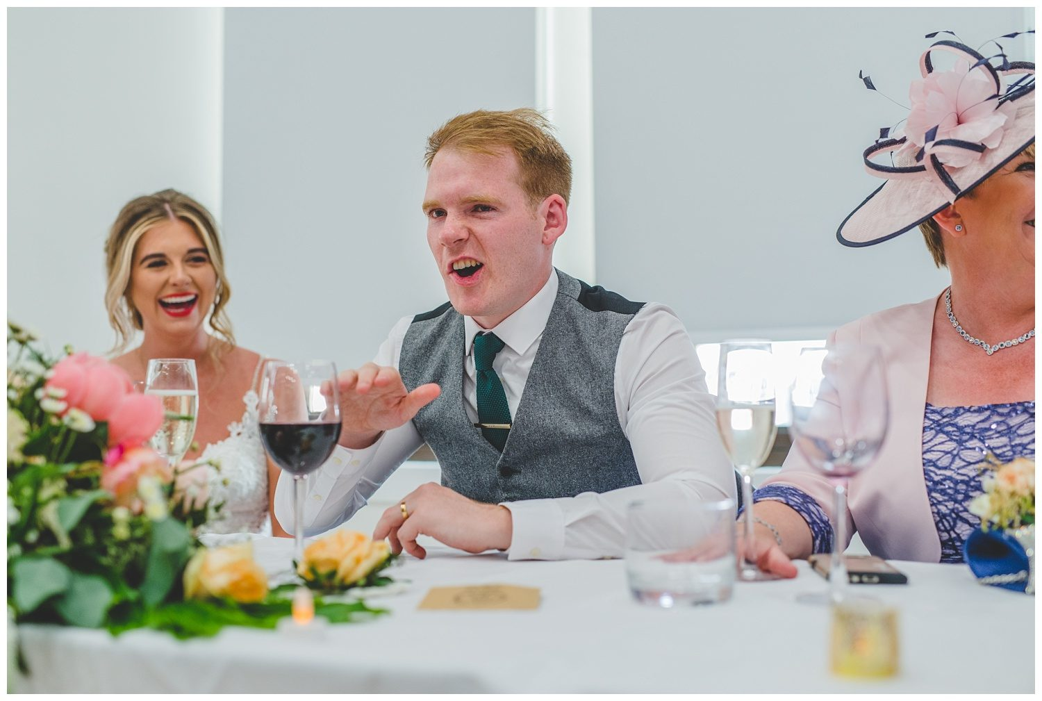 Royal Liver Building wedding speeches