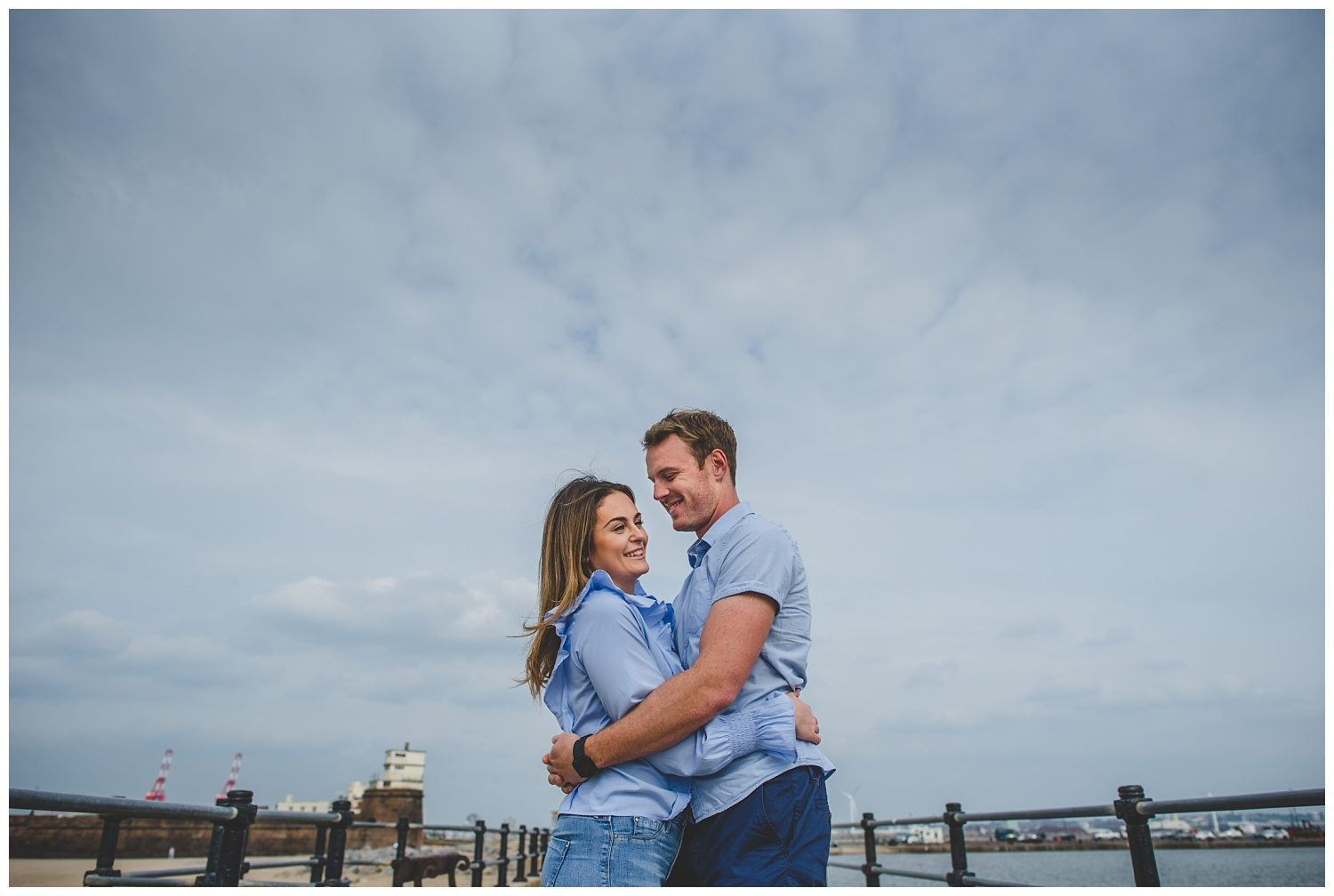 New Brighton pre-wedding shoot