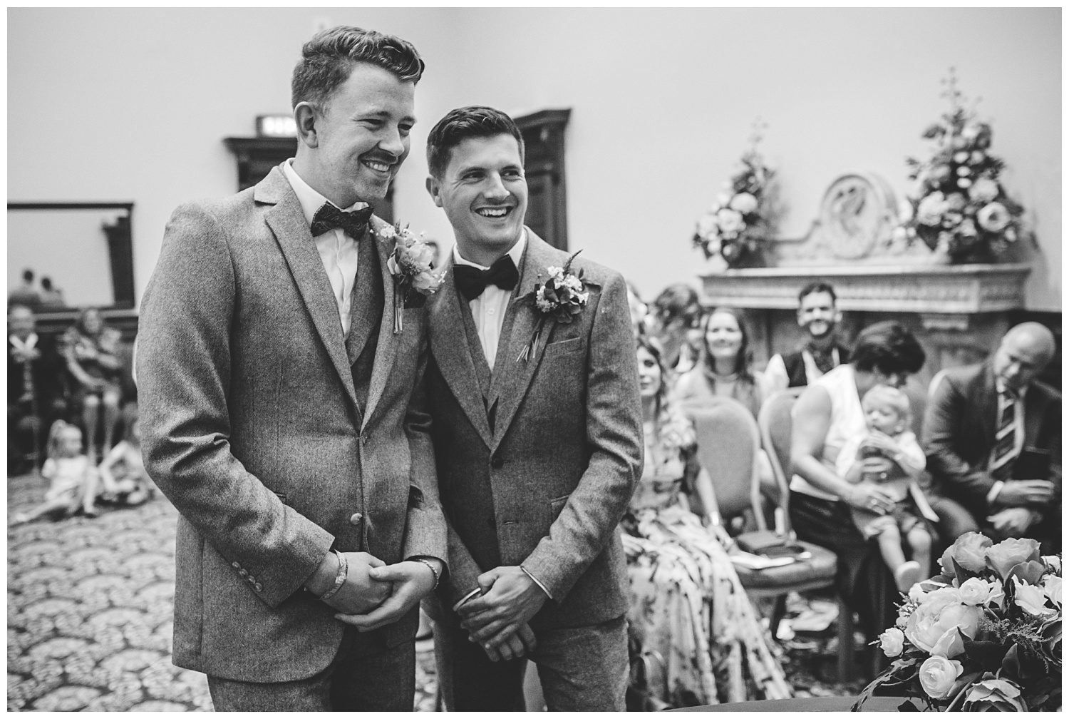 Same sex wedding in Liverpool