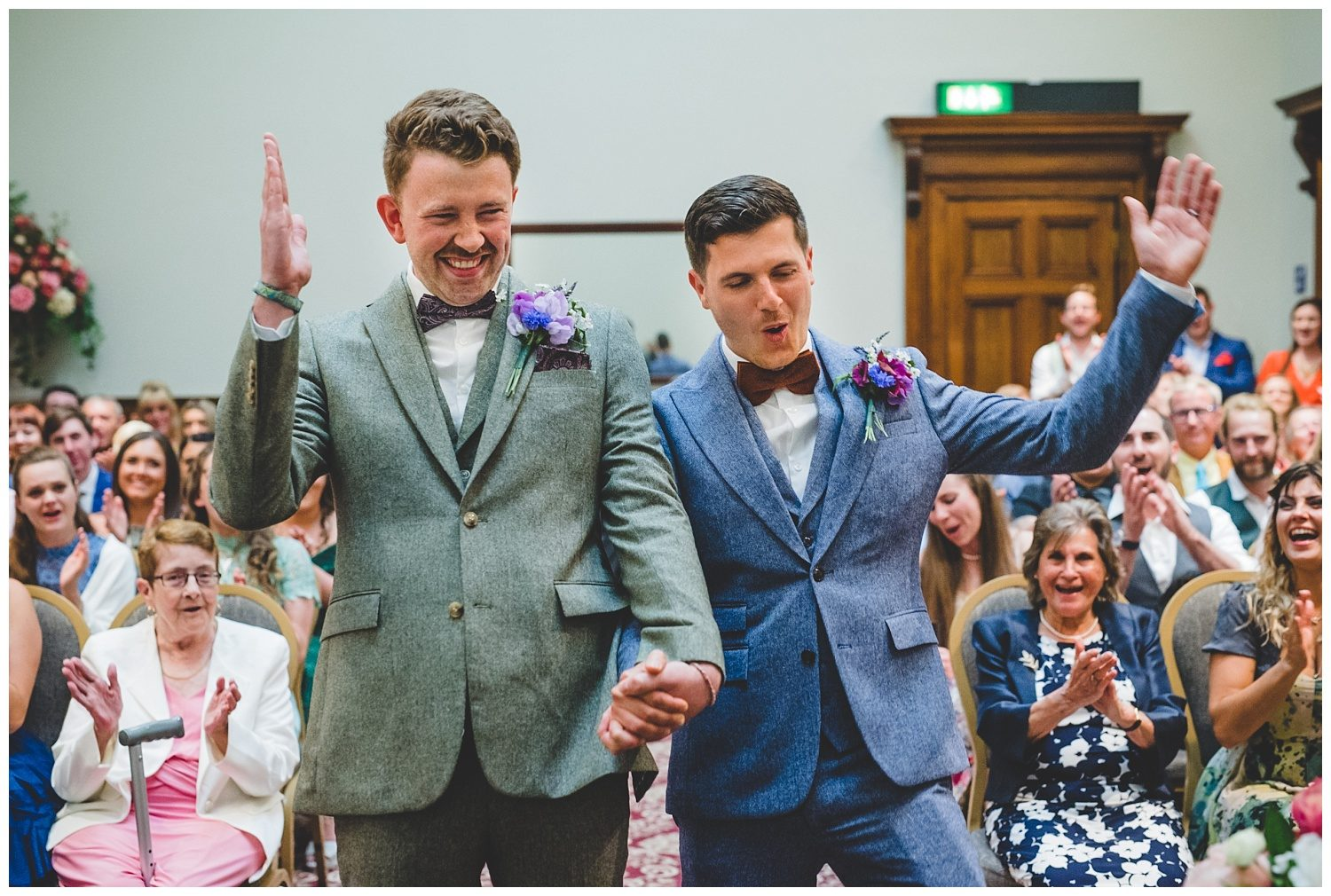 A colourful and fun gay wedding in Liverpool