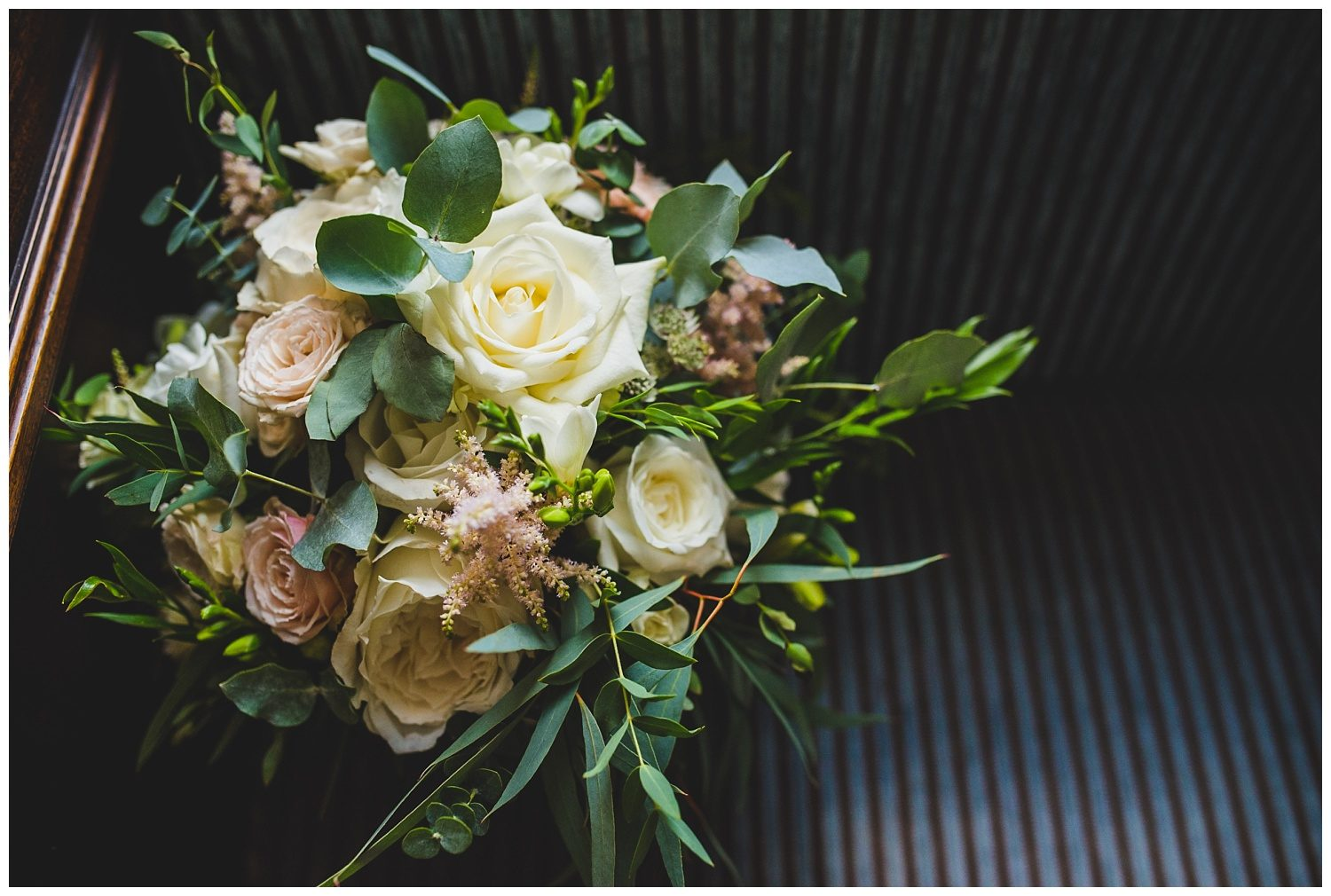 Wedding flowers at Peckforton Castle