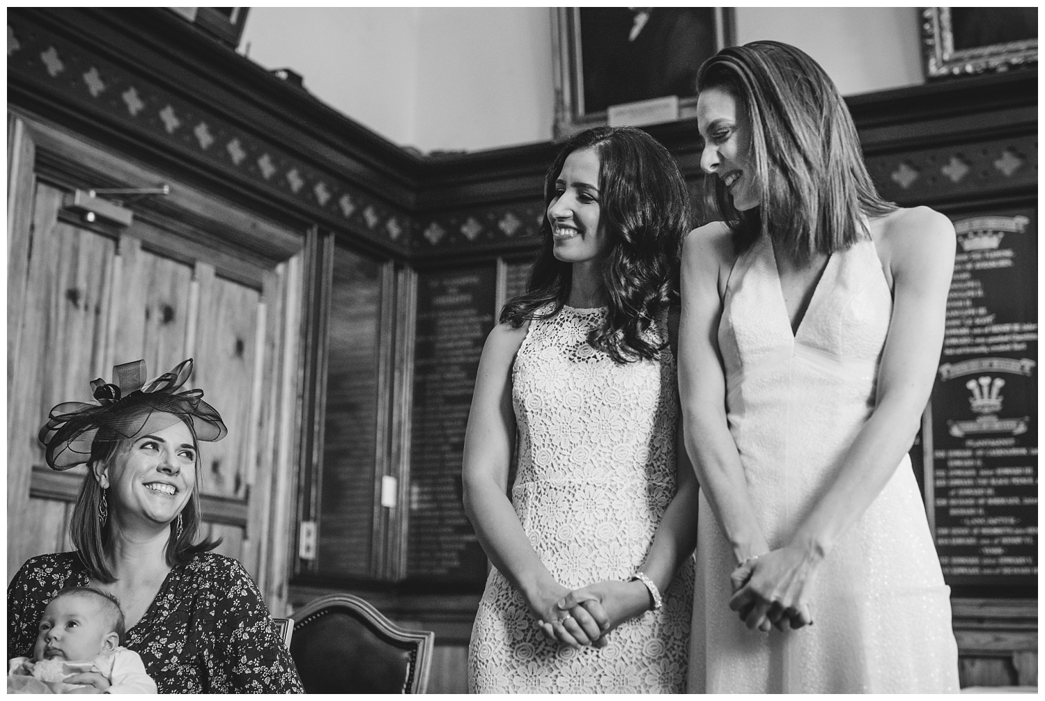 Same sex wedding at Chester Town Hall