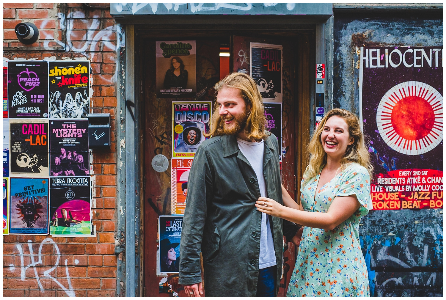 Alternative couples photoshoot Manchester