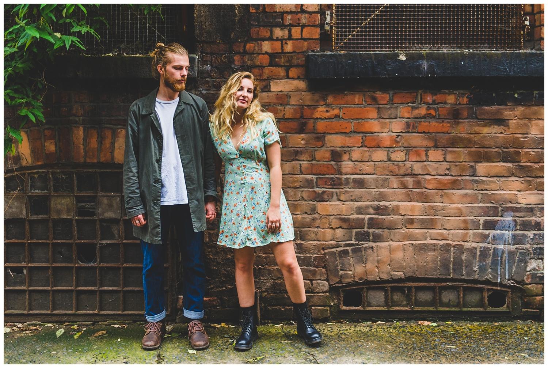 Northern Quarter couples photoshoot