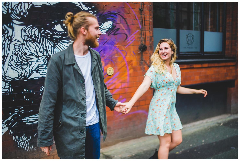 Alternative couples photoshoot Manchester