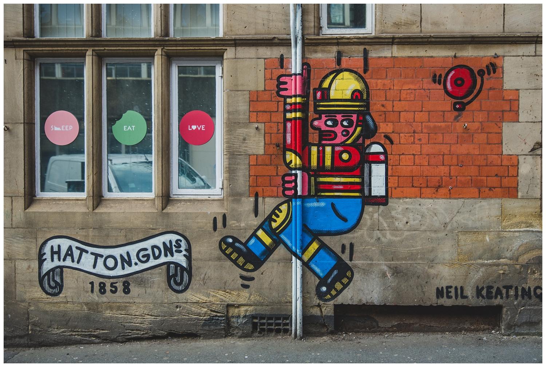 Neil Keating graffiti