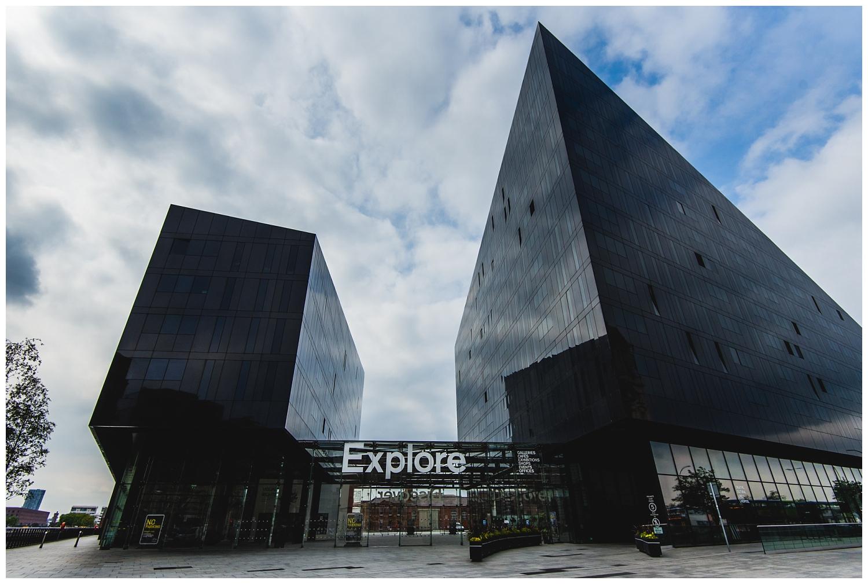 Mann Island buildings Liverpool